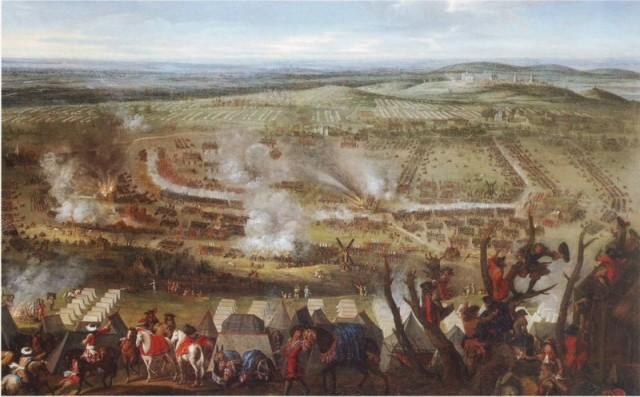 Batalla de Monte Cassel. 1677