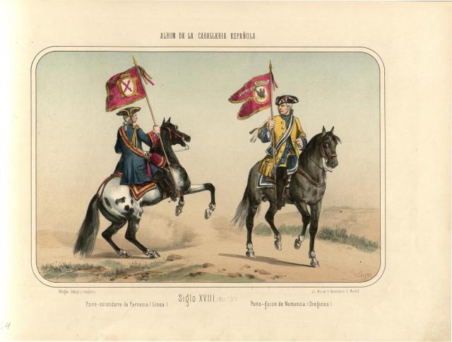 Álbum de la Caballería española, del conde Clonard
