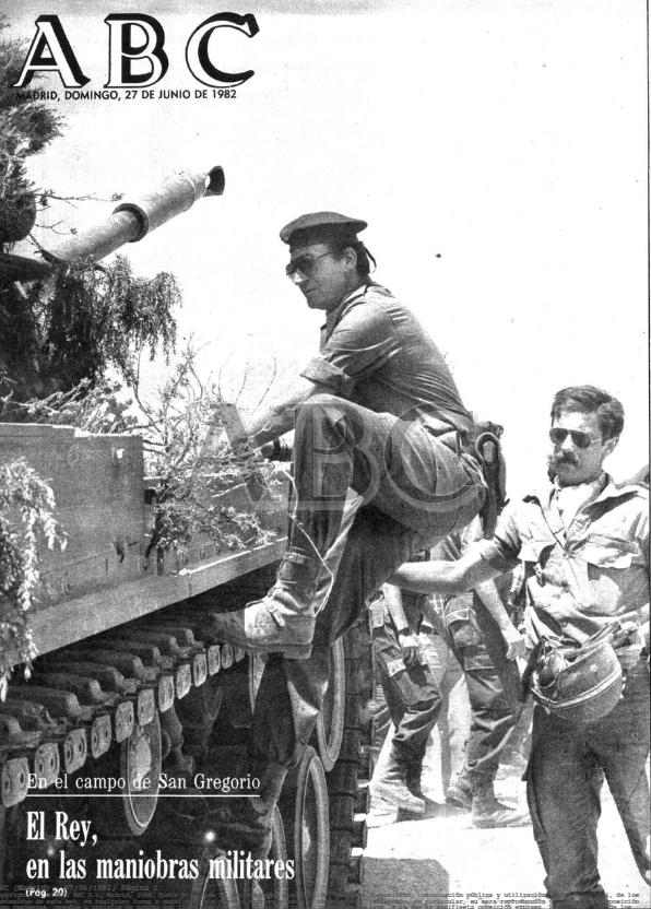El Rey Juan Carlos, con el ELAC de Farnesio