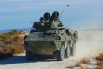 El Vehículo de Exploración de Caballería va dotado con un cañón M-242 Bushmaster de 25 mm. © Carlos Molero