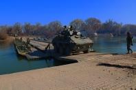 Adiós, río Ebro. En colaboración con los pontoneros del Regimiento de Pontoneros y Especialidades de Ingenieros (RPEI) 12.
