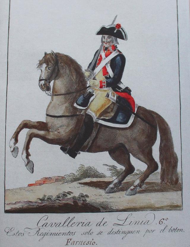 Estado militar gráfico de 1806.