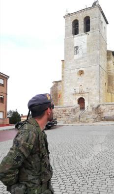 """4 de abril. Patrulla en Aguilar de Campoo (Palencia). © RC """"Farnesio"""" 12"""