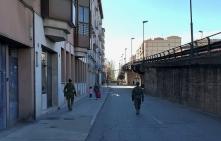 """8 de abril. Patrulla en Valladolid. © RC """"Farnesio"""" 12"""