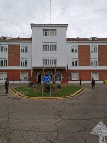 """9 de abril. Patrulla en el hospital """"San Telmo"""". Palencia. © RC """"Farnesio"""" 12"""