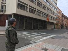 """9 de abril. Patrulla en Palencia. © RC """"Farnesio"""" 12"""