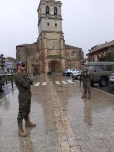 """11 de abril. Patrulla en Aguilar de Campoo (Palencia) © RC """"Farnesio"""" 12"""